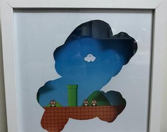 Mario Shadowbox / Frame