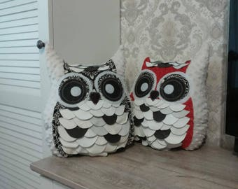 Pillows Howlets pillow in the form of an owl