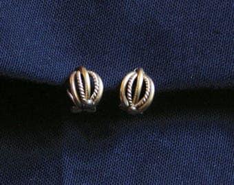 Earrings 1950s clip earrings