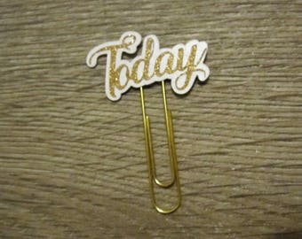 Today Paperclip / Planner Accessories / Paper Clip / Paperclip / Planner / Diary / TN / Organizer