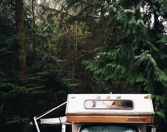 Holiday Camper | Fine Art Print
