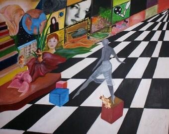 original painting steps