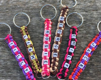 Custom Name Keyring, Custom Key Fob, Personalised Key Fob, Kids Name Key Chain, Keychain With Name, Customised Keyring, Custom Name Keychain