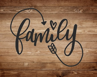 Family Vinyl Decal, Family vinyl Sticker, Family, Family Quote, Family Sticker