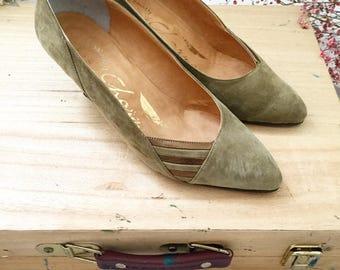 Zapatos vintage años 80 T. 37 US4
