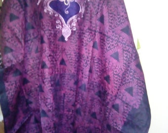 African Boubou With Embroidery