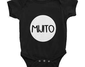 Mijito Infant Onesie NB-24mos / Spanish Bilingual Kids Short Sleeve Bodysuit / My Son Spanish Tee for Infants