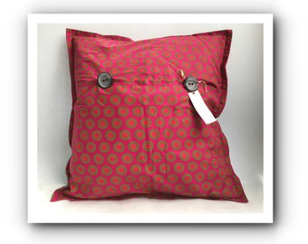 Shweshwe | African print | pillow cover