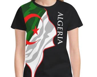 Algeria Ladies Classic Flag Shirt 2.0