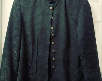 Vintage brocade pattern tunic