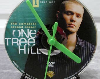 One Tree Hill DVD Clock Upcycled TV Show - Lucas