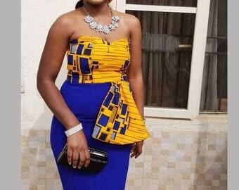 Ankara dress, African print dress, Ankara gown, African print gown, African dresses for women, African gown, Women's clothing