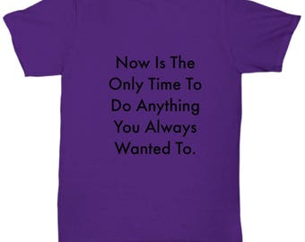 WisecrackDesigns Unisex TShirts with cool sayings 7 colors and All Sizes
