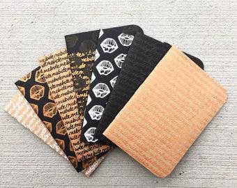 Notebook Set-Assorted Rose Gold, Black, White