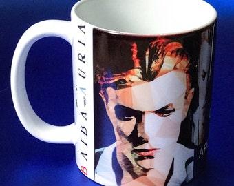 David Bowie Mug by Baiba Auria - (Ziggy stardust coffee mug stardust gift)