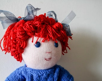 Sweet soft red hair doll - tenera bambola dai capelli rossi