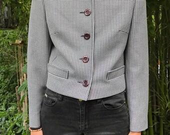 WOMAN Alouette Paris Vintage houndstooth jacket
