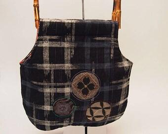 Kasuri pattern Bag