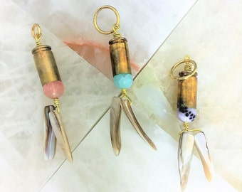 9mm Brass Bullet Shell Necklace/ Keychain  ViragoEarth 