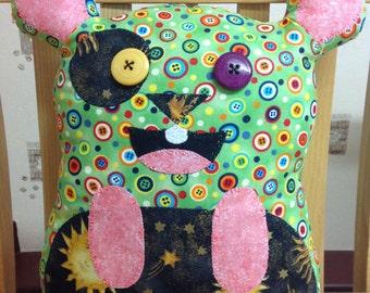 Mouse shaped cushion