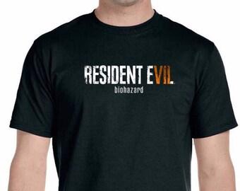 Resident Evil Biohazard t-shirt