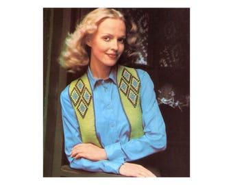 Beaded Vest Crochet Pattern