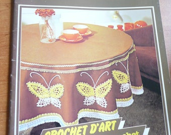 vintage french magazine crochet n. 42 - 1982