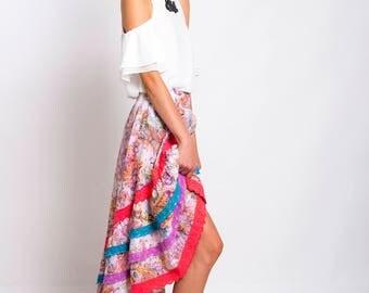 Summer Gypsy Boho Skirt