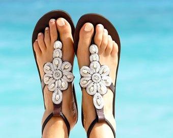MASAI SANDALS, African Sandals, Leather Sandals, Kenyan Sandals, Tribal Sandals, Summer Sandals, Cute Sandals, Women Shoes, Women Sandals