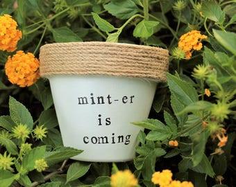 Mint-er is Coming Pot