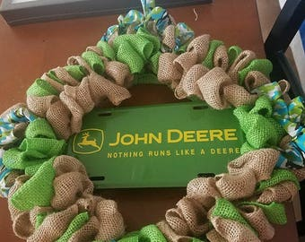 John Deere welcome wreath
