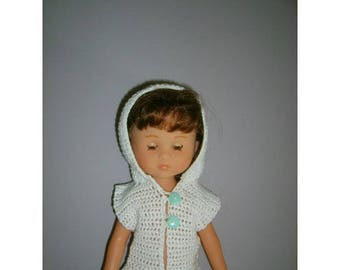 33cm doll hooded jacket