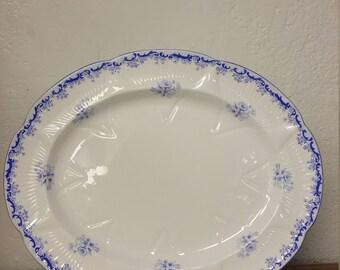 """Shelley Heavenly Blue 15"""" Platter"""