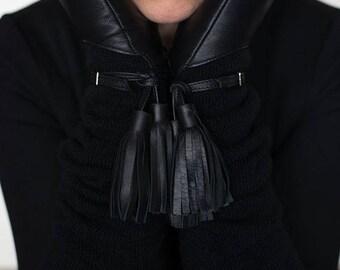 Women Gloves - black