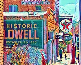 Rustic Photo of Lowell Arizona