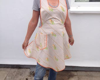 Handmade Apron made from lovely vintage material