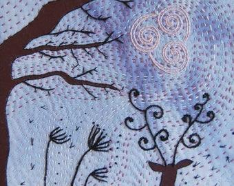 Wind Of Change Artist Card, Greetings Card, Blank Art Card