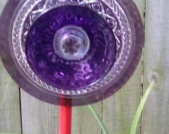 Glass Plate Flower