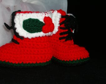 Santa's Helper Christmas Boots