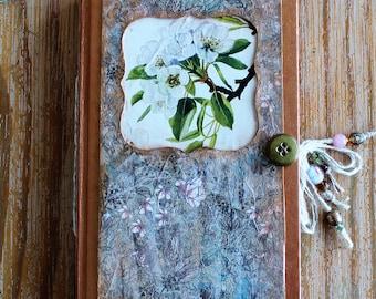 Altered Book Vintage Garden Journal