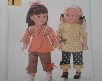 Simplicity Pattern A2086  Fits American Girl & other 18 inch dolls
