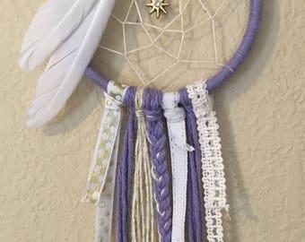 "3"" Purple Dream Catcher"