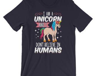 I Am A Unicorn Shirt | Funny Unicorn Shirts | Unicorn Gifts