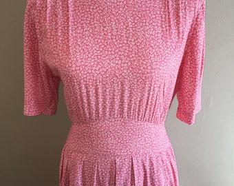 Vintage Karin Stevens Pink Dress