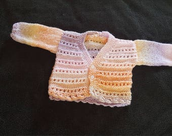 Ombre baby girls cardigan