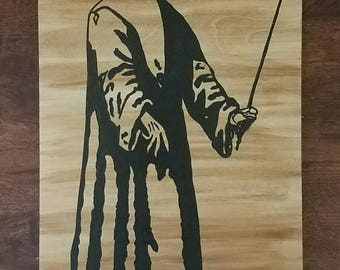 DOCTOR, plague, England, paint on wood