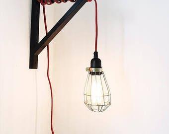 Shelf-bracket pendant lamp light