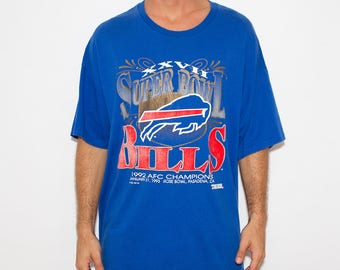 Buffalo Bills, NFL, Game Day, Superbowl, Football Season, Bills, Gameday, Game Day Jersey, Game Day Shirt, Champions, 90s, Sports, Athletic