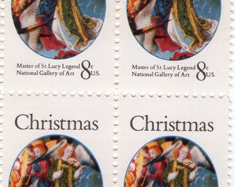 Christmas - Master of St. Lucy Legend - 12 Stamps - 1972 - Mint - Unused - Scott 1471