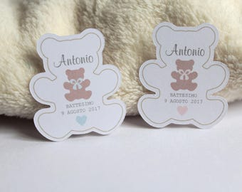 tags labels cards shaped favors particular graphic designed by Teddy Teddy teddy bears gift tags tags tags moi ill never forget you